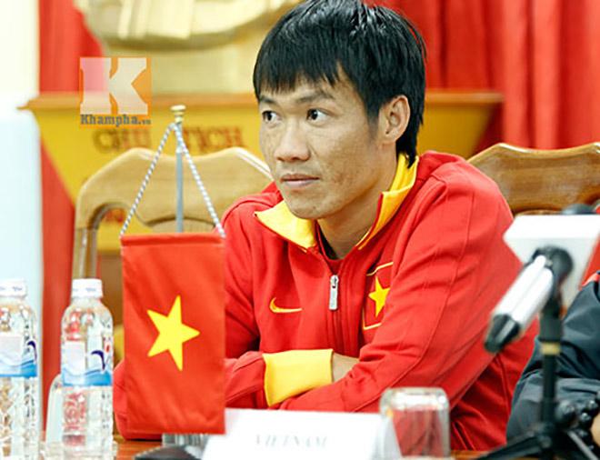 Tấn Tài thời điểm làm đội trưởng ĐT Việt Nam dự AFF Cup 2014