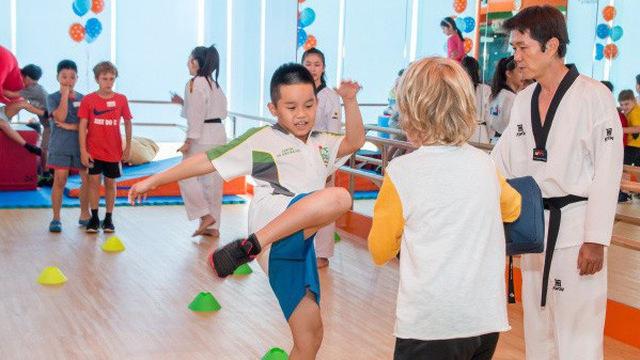 Học võ thuật mang lại nhiều lợi ích cho trẻ nhỏ