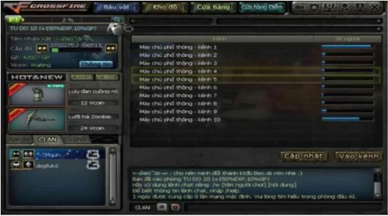 Cách đổi tên trong game Đột Kích