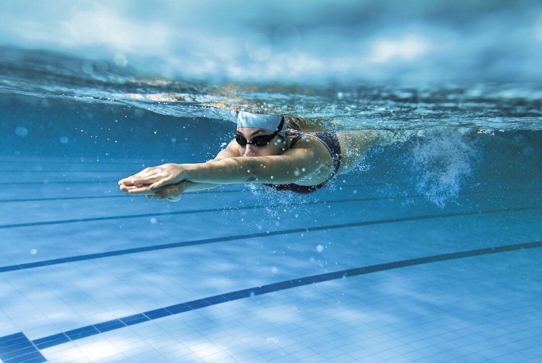 Bơi lội bộ môn giúp tăng chiều cao hiệu quả
